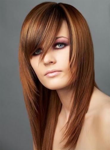 Cortes de cabello en v y degrafilado