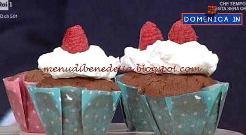 Domenica In - Red velvet cupcake ricetta Benedetta Parodi