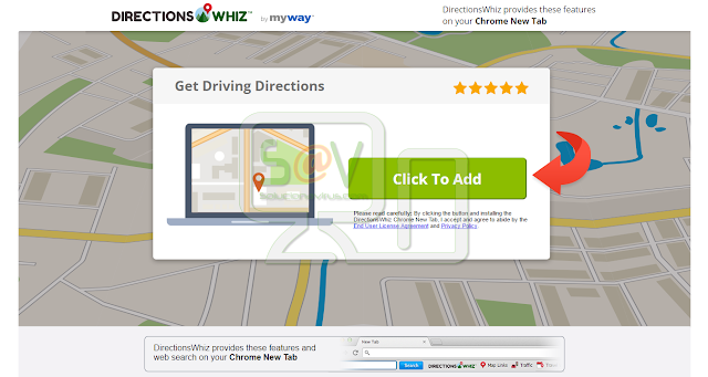 Directions Whiz (Adware)