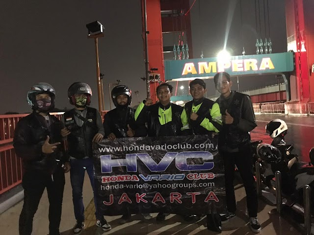 Touring HVC Jakarta pulihkan ekonomi rakyat ditengah pandemi