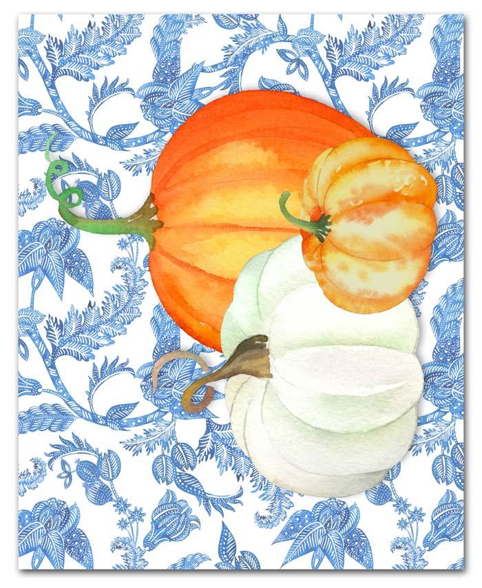 Preppy Pumpkin Printables