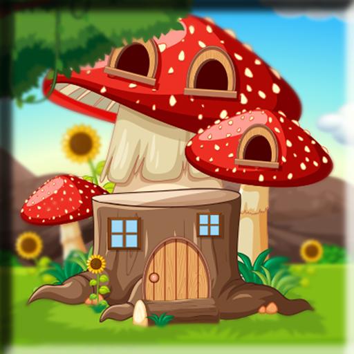 Red Mushroom House Escape…