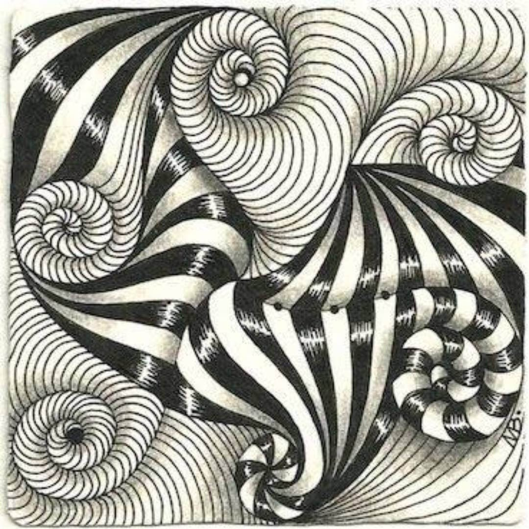 01-Classic-Pattern-hello_zenart-Different-Styles-and-uses-for-the-Zentangle-Pattern-www-designstack-co