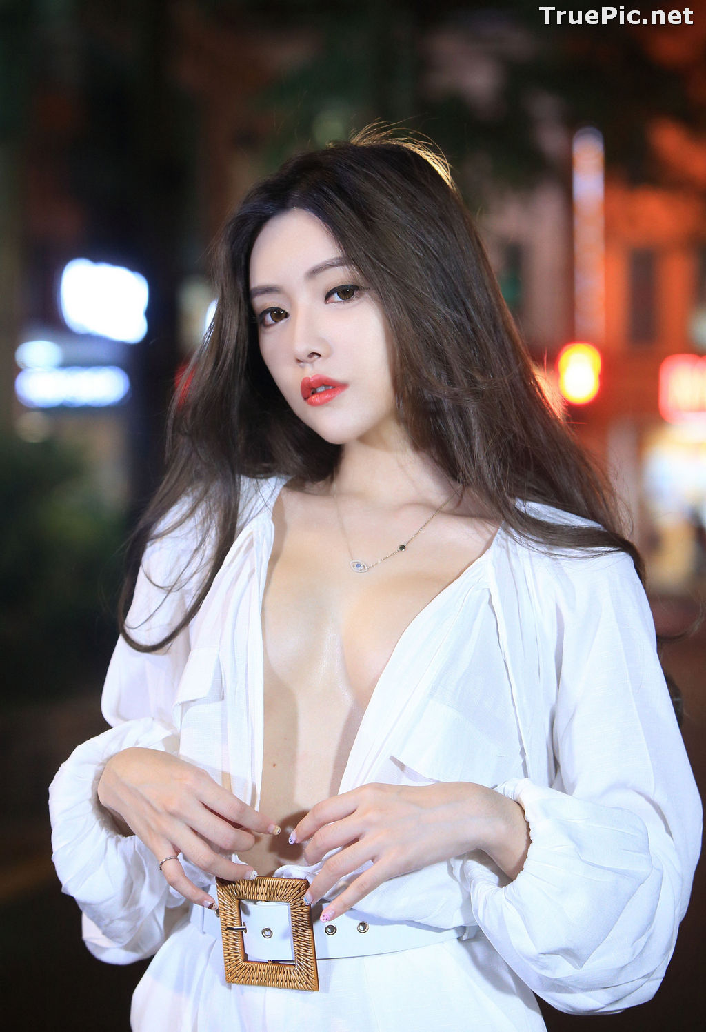 Image Taiwanese Model – 莊舒潔 (ViVi) – Sexy and Pure Baby In Night - TruePic.net - Picture-1