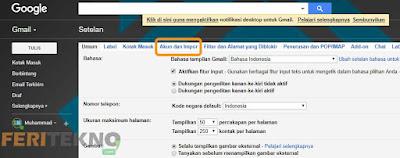 cara mengganti nama tampilan di gmail 2