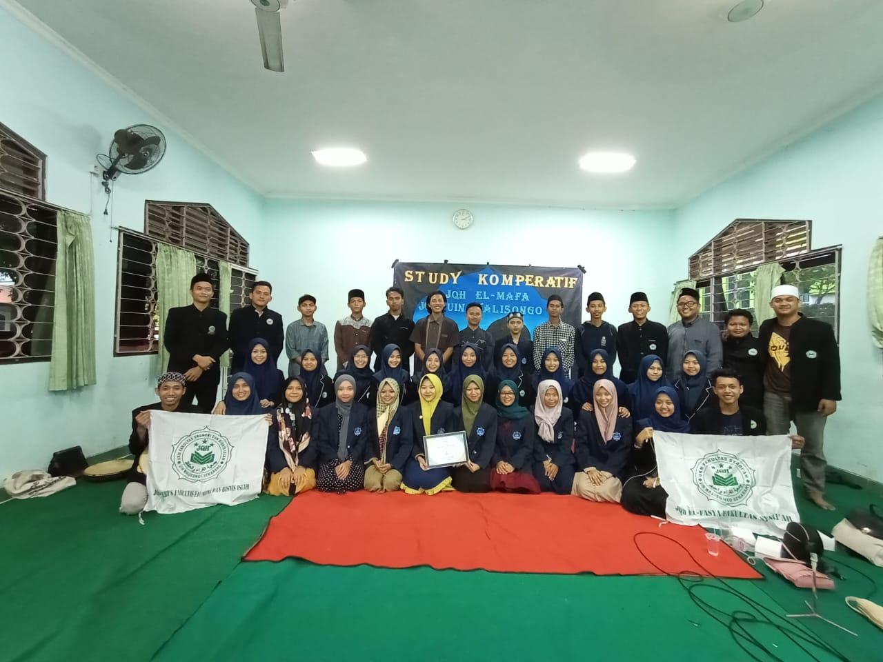 Kunjungan UKM JQH El-Mafa IPMAFA Pati