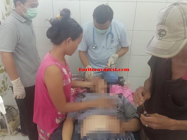 Beat vs Vixion Adu Kuat, Seorang Wanita Asal Batu Nyapau Tewas