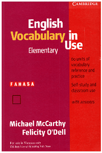 Cambridge English Vocabulary In Use Elementary - Micheal McCarthy