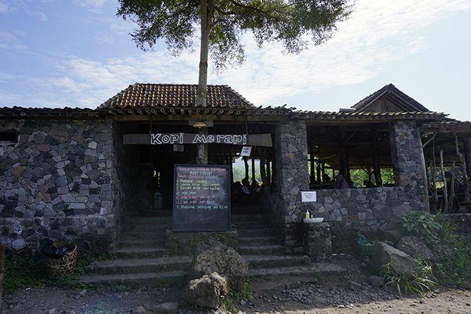 Warung Kopi Merapi di Cangkringan