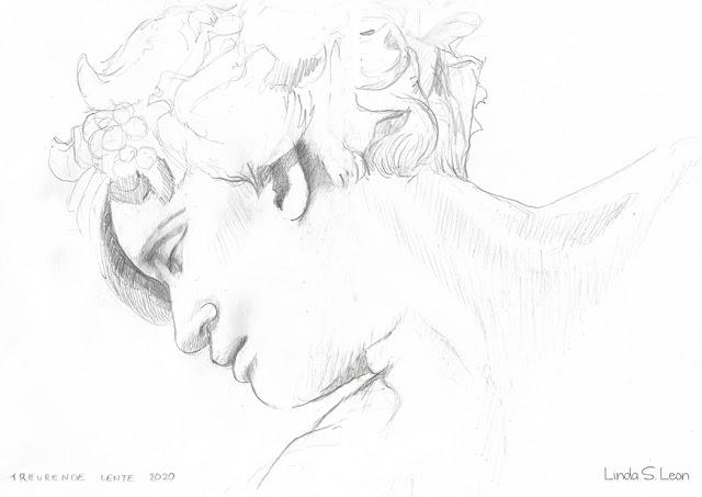 Spring 2020 - Graphite sketch by Linda S. Leon