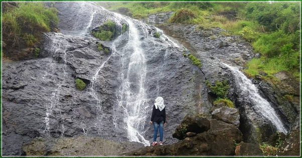 Foto Keindahan Curug Kedondong Buthak Gunungsari - Air Terjun Raksasa Di Karanggayam Kebumen