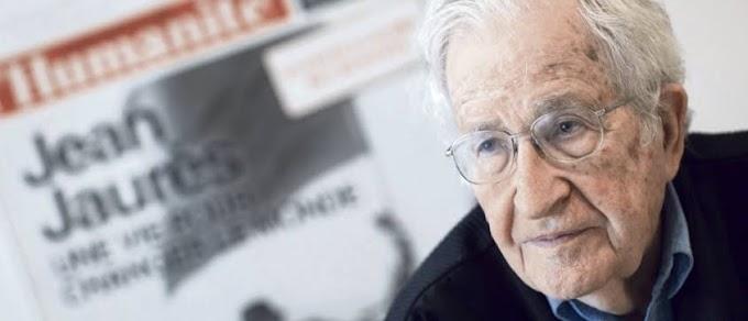 Análisis de Noam Chomsky sobre el Coronavirus y la geopolitica mundial sobre lo que pudiera estar pasando