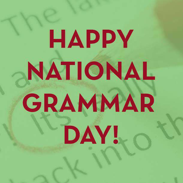 National Grammar Day Wishes