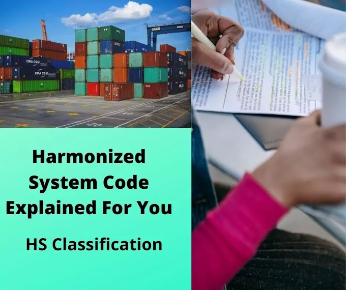 Harmonized System Code Explained For You