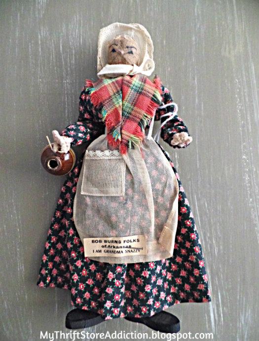 Grandma Snazzy Ozark Mountain Doll