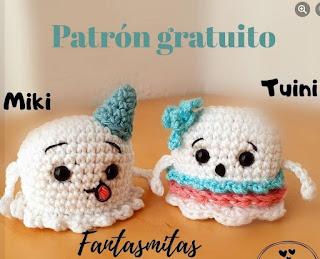 PATRON GRATIS FANTASMA AMIGURUMI 45217