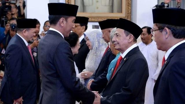 Presiden Jokowi Lantik Anggota Wantimpres 2019-2024