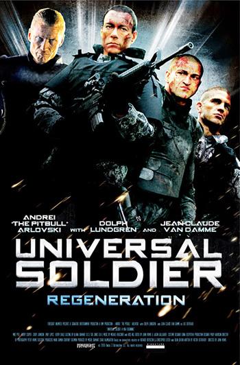 Universal Soldier: Regeneration 2009 Dual Audio ORG Hindi 720p BluRay 800MB DD5.1Ch poster