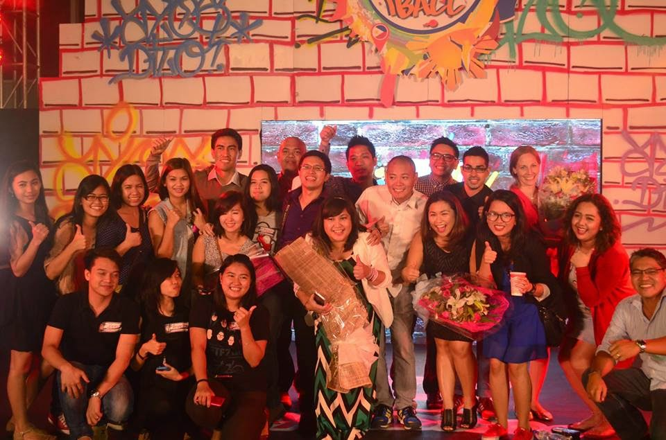 AyosDito.ph management and staff with iBall hosts Boys Night Out, Jojo the Love Survivor, and Ramon Bautista