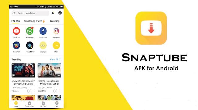 SnapTube - YouTube Downloader HD Video v4.64.0.4642710 Apk [Final] [Vip]