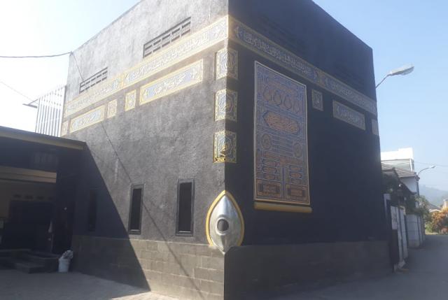 Unik, Masjid di Kabupaten Bandung ini Berbentuk Ka'bah