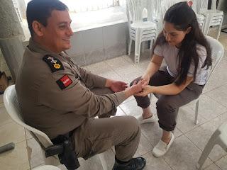 Projeto da UFCG promove a saúde física e mental de policiais militares no Curimataú