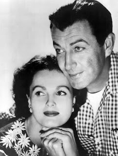 Picture of American actor Robert Taylor with his co-actor