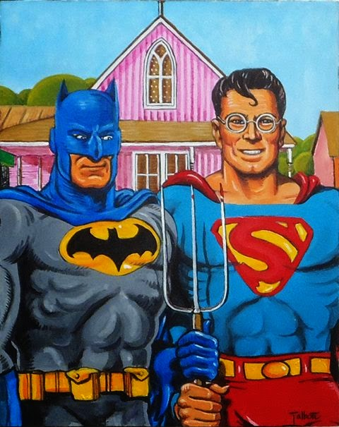 Batman and Superman Farmers