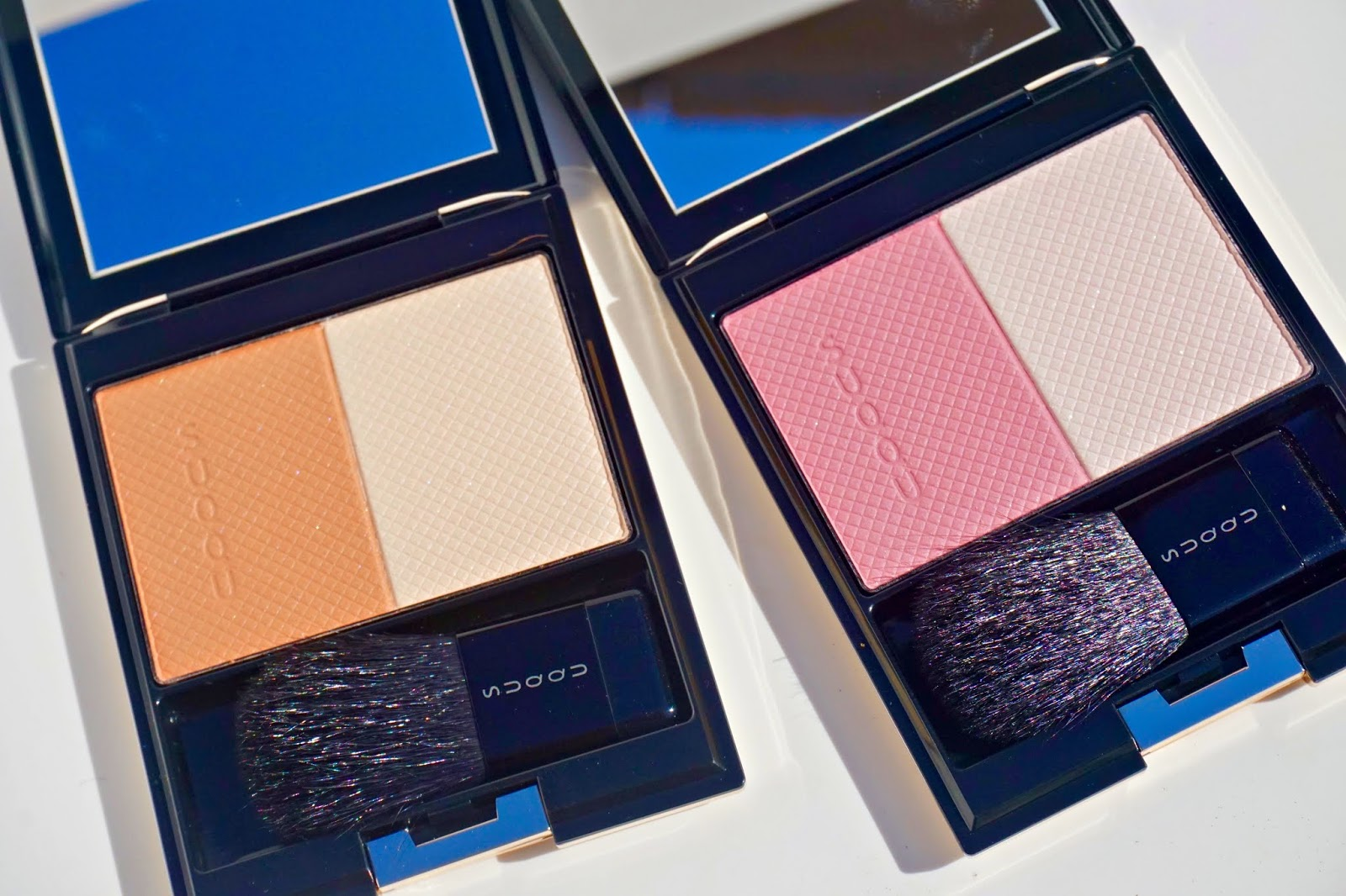 suqqu aw2018 collection swatches