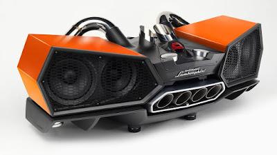 Altavoz bocina ESAVOX Lamborghini