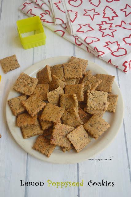 Lemon Poppy seed cookies Recipe   Lemon Flavored Black Poppy Seeds Cookies