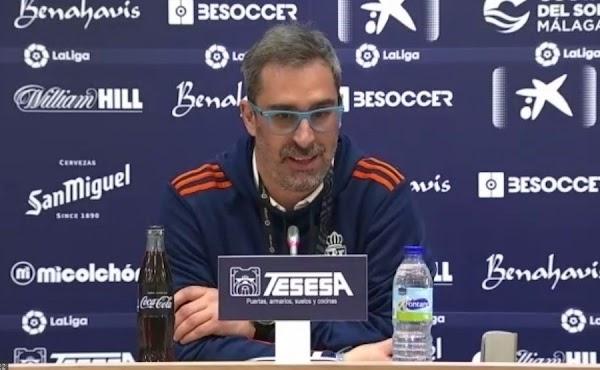"""Bolo - Ponferradina -: """"El Málaga nos ha hecho sufrir en alguna jugada, pero estuvimos bien en el campo"""""""