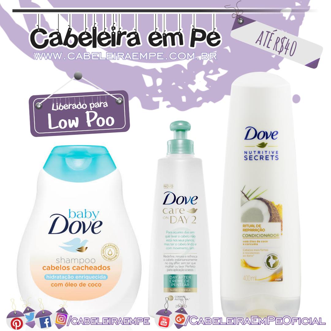 Shampoo (Low Poo) e Condicionador (No Poo e Co Wash) Poder das Castanhas e Creme Para Pentear Super Frutas Cachos e Crespos Maria Natureza - Salon Line (No Poo) - Kit Low Poo Barato
