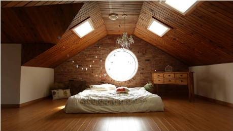 Converting an attic to a bedroom will raise property value