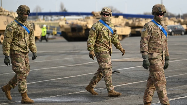 US Troops withdraw from Germany