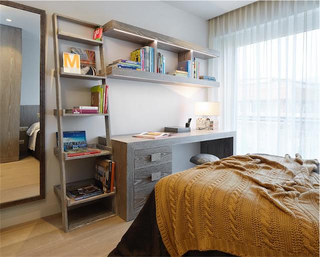 dormitorio con mesa de trabajo chicanddeco