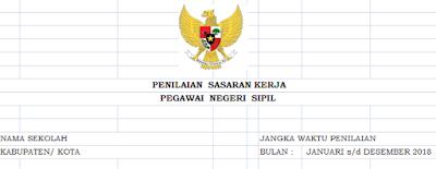 Download formulir SKP Guru Excel