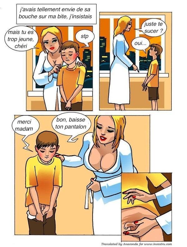 секс комикс сын мама