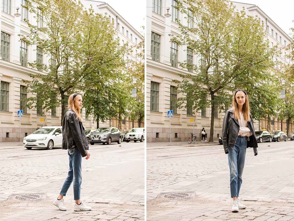Minimalist and chic Scandinavian street style outfit for autumn - Minimalistinen skandinaavinen asu syksyyn