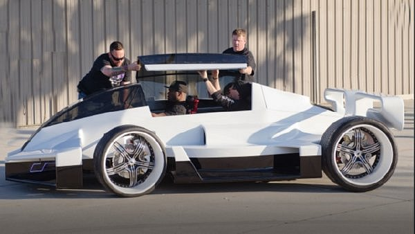 Dream Machines - Rapper 50 Cent's Jet Car
