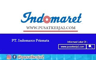 Lowongan Kerja Jakarta SMA SMK D3 S1 Indomaret Group November 2020