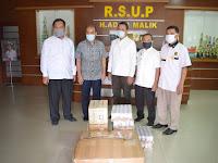 PKS Sumut Salurkan Bantuan APD dan Suplemen Untuk Tenaga Medis RSUP H. Adam Malik