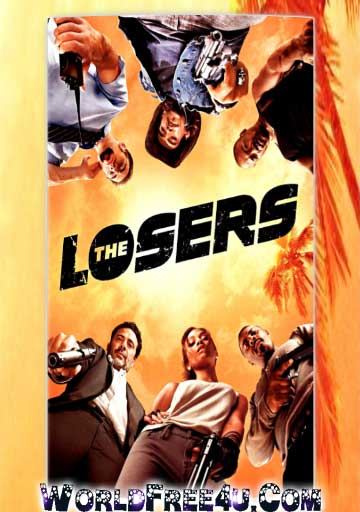 Poster Of The Losers (2010) In Hindi English Dual Audio 300MB Compressed Small Size Pc Movie Free Download Only At worldfree4u.com