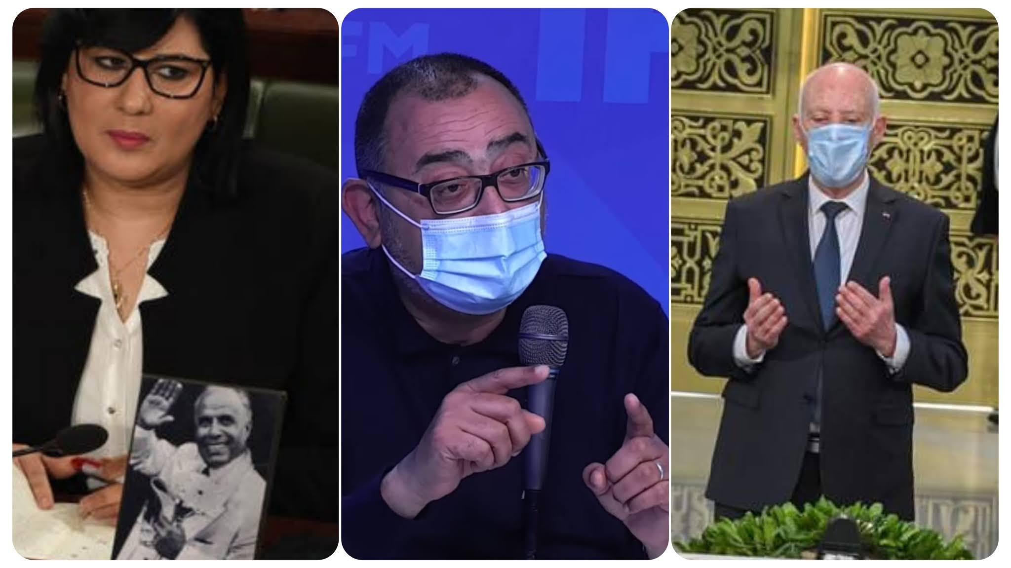 بالفيديو سفيان بن حميدة قيس سعيد هو و عبير موسي من اكبر المنافقين يستعمل في بورقيبة لزيادة شعبيتهم