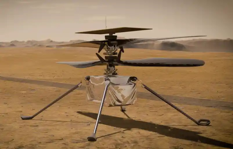 NASA plans a daring six-flight helicopter with ingenuity in Mars