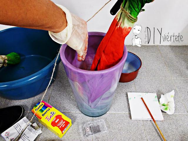 DIY-tintes iberia-teñir-rojo-verde-verano-fruta-sandía-estampado-melón-watermelon-falda-pepefalda-newlook-8