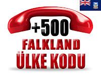 +500 Falkland Adaları ülke telefon kodu