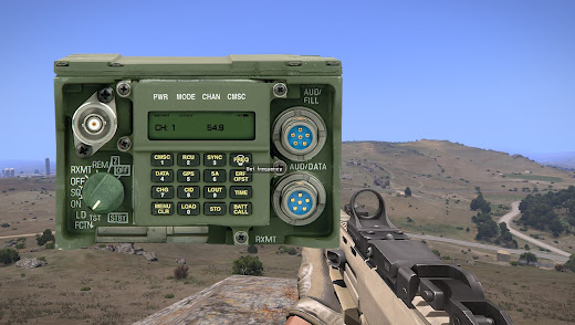 arma3用無線MOD タスクフォース アローヘッド