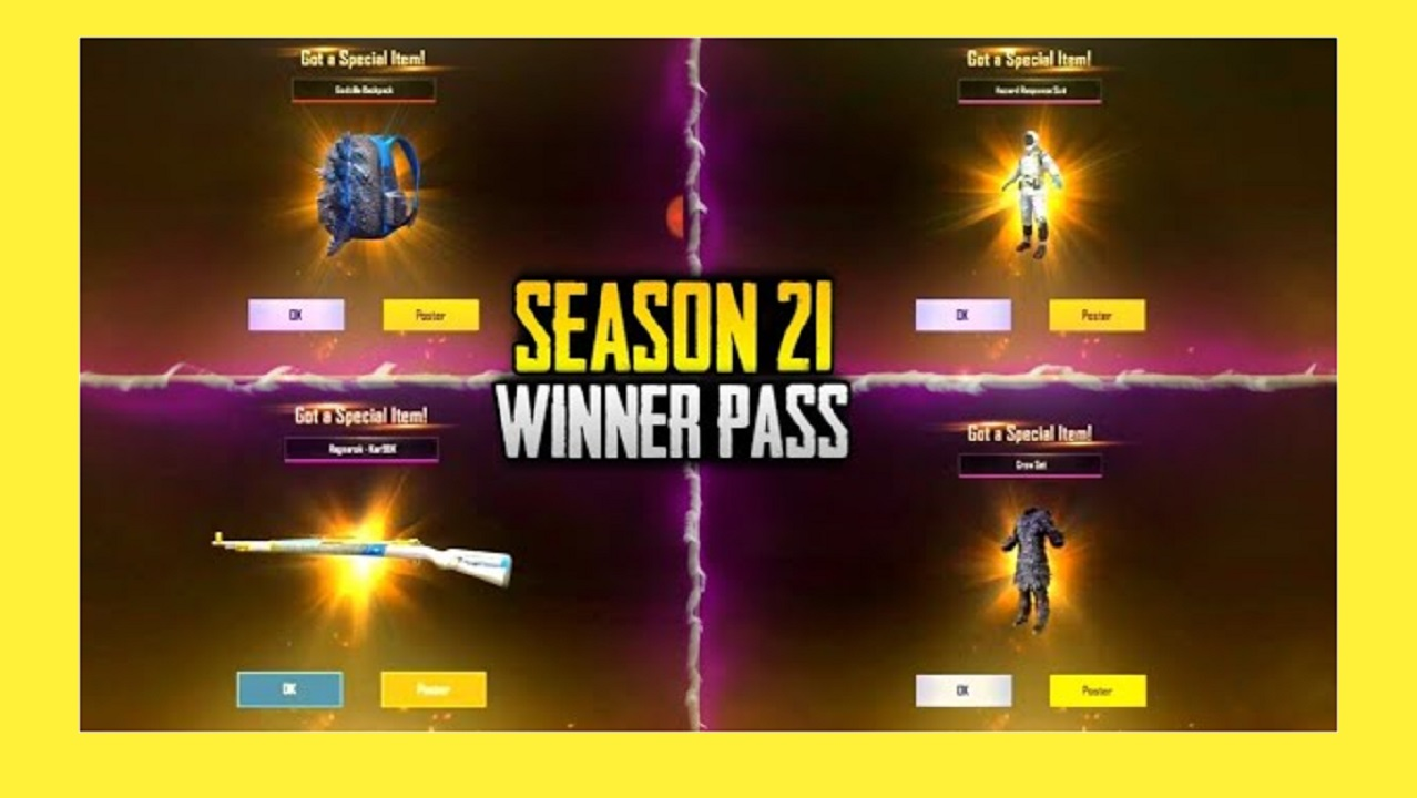 PUBG Mobile: Steps to purchase Season 21 Winner Pass