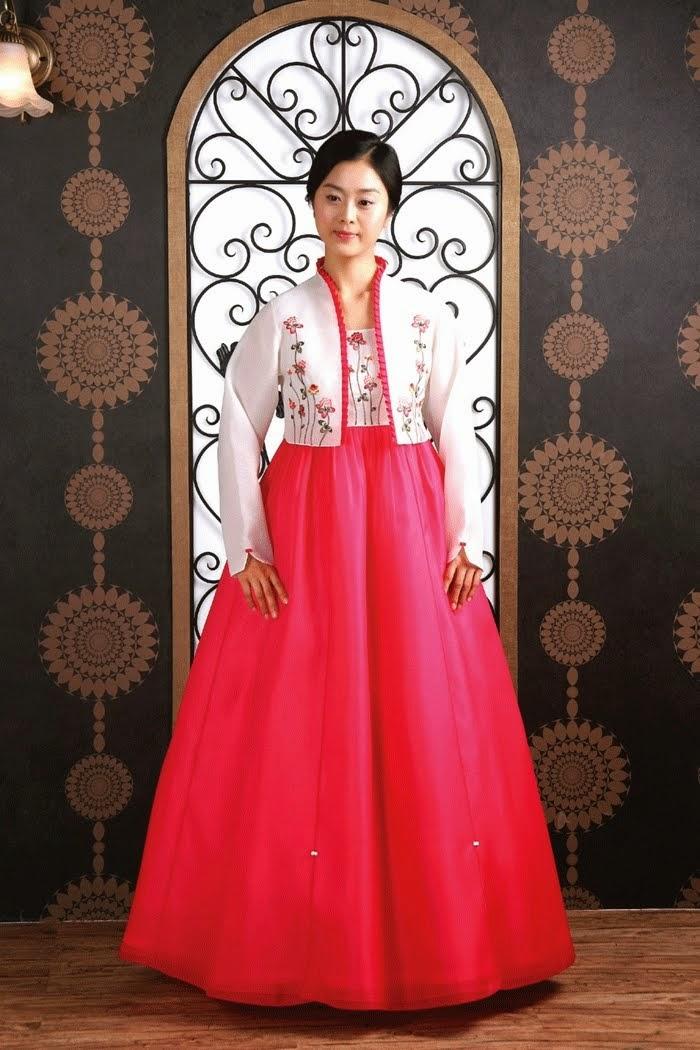 Korean Wedding Dress Traditional Hanbok Fashion Style